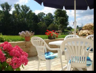 garten / terasse - ferienwohnung, Garten und Bauen
